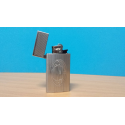 Porta accendino metallo milan - Prodotto Ufficiale - accendino incluso